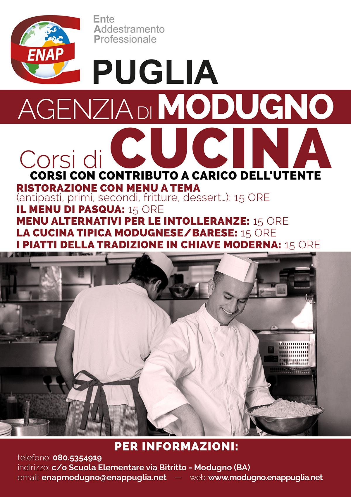 Catalogo corsi 2016 - Corsi gratuiti di cucina a bari ...